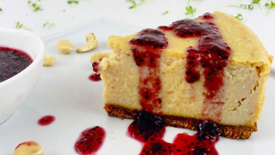 Entrada AA. Tofu cake con miel de romero crema
